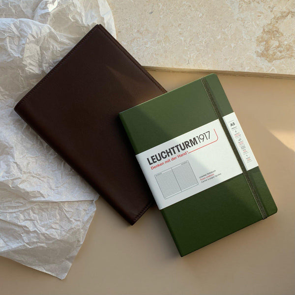 Gift Set MERSOR x Leuchtturm1917 No.1 | Brown & Army