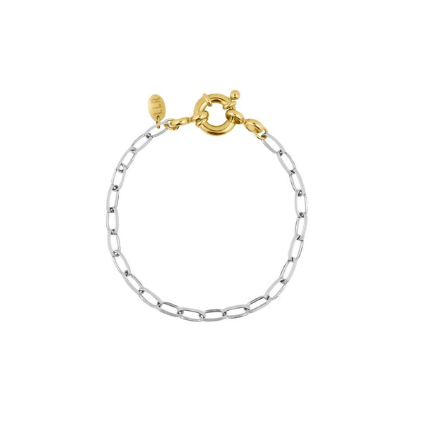 Bicolor Bicycle Bracelet