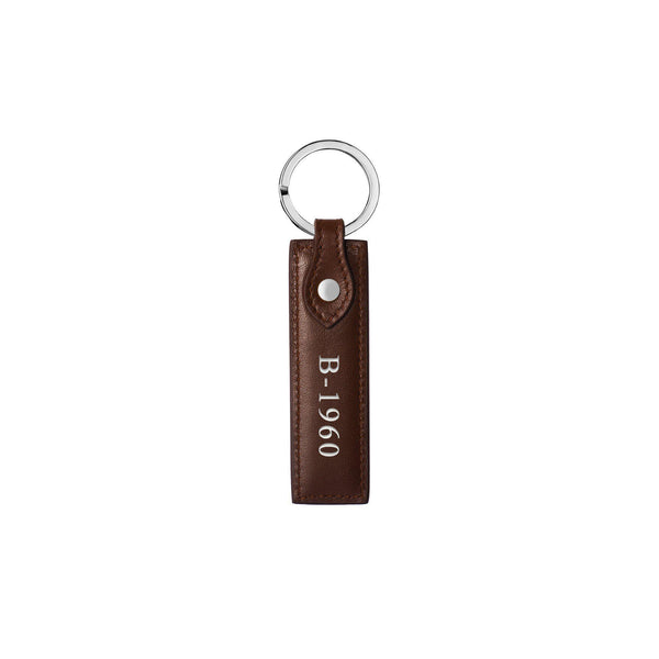 Keycharm Classic | Brown & Silver