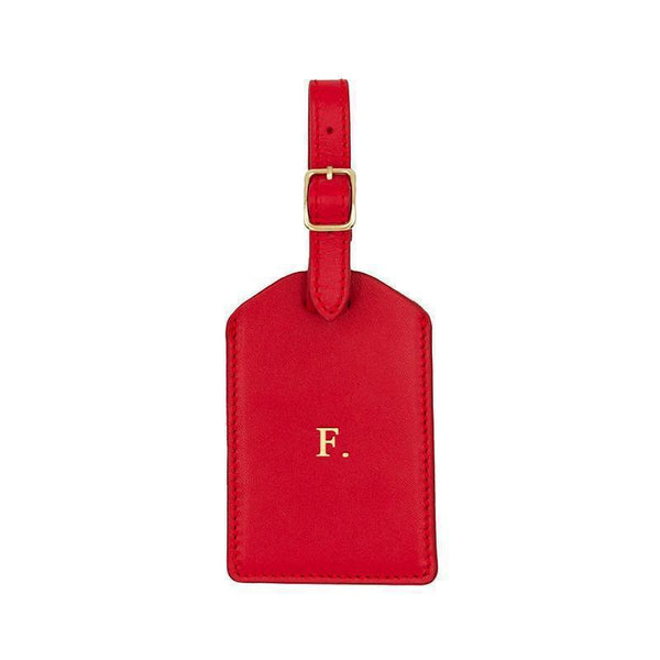 Luggage Tag | Scarlet & Gold