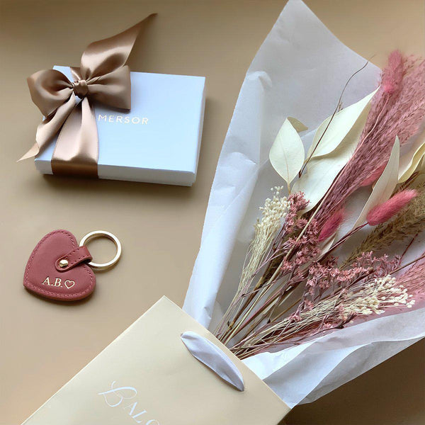 Gift set MERSOR x LALOVLIY | Misty Rose & Gold