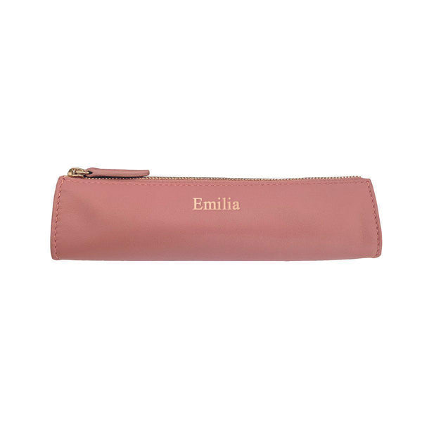 Pencil Case | Misty Rose & Gold