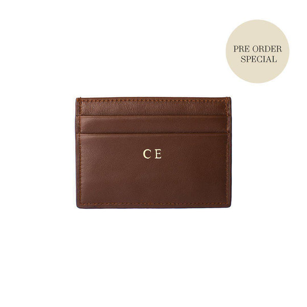 Cardholder Smooth Leather | Brown - Pre-Order