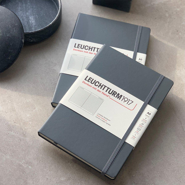Notebook A5 lined | Anthracite