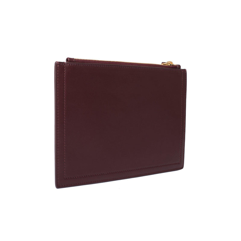 MERSOR | Small Pouch in Wine Red
