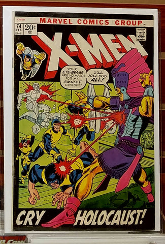 X-MEN #74 (1972) GIL KANE COVER DICK AYERS-FINE+