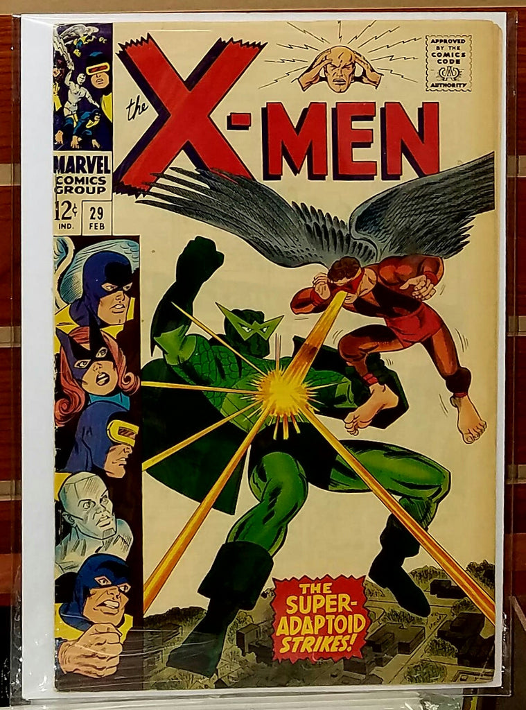 X-MEN #29 (1967) ROY THOMAS WERNER ROTH-VF-