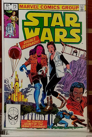 STAR WARS #73 (1983) FRENZ PALMER LUCAS MARVEL-NM
