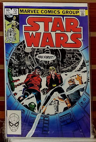 STAR WARS #72 (1983) FRENZ PALMER LUCAS MARVEL-NM+