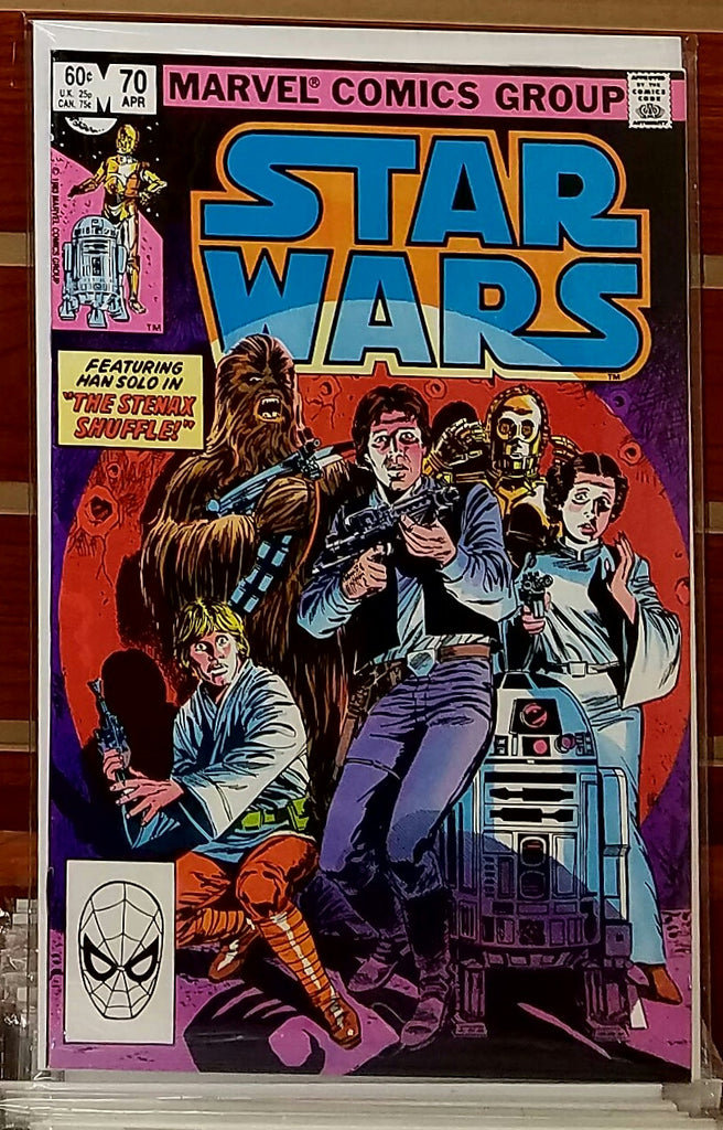 STAR WARS #70 (1983) FRENZ PALMER LUCAS MARVEL-NM