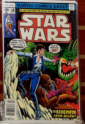 STAR WARS #10 (1978) 1ST PRINTING GEORGE LUCAS MARVEL-VF+/NM