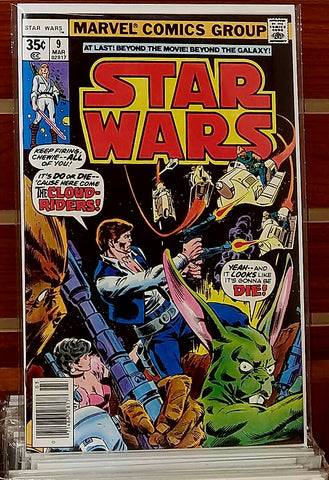 STAR WARS #9 (1978) 1ST PRINTING GEORGE LUCAS MARVEL-NM