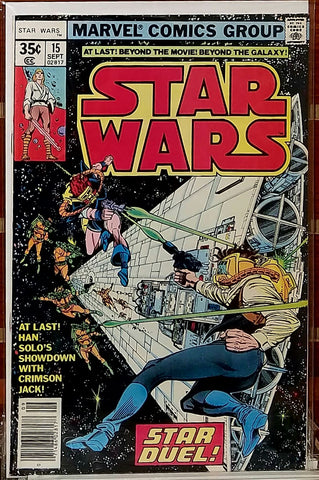 STAR WARS #15 (1978) ARCHIE GOODWIN LUCAS MARVEL-VF/NM