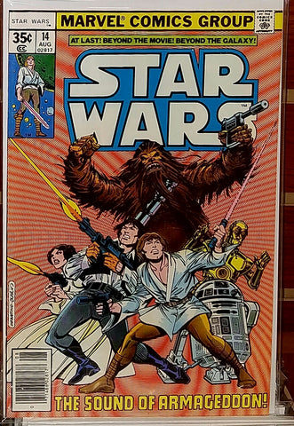 STAR WARS #14 (1978) ARCHIE GOODWIN LUCAS MARVEL-NM-