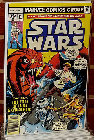 STAR WARS #11 (1978) 1ST PRINTING GEORGE LUCAS MARVEL-NM
