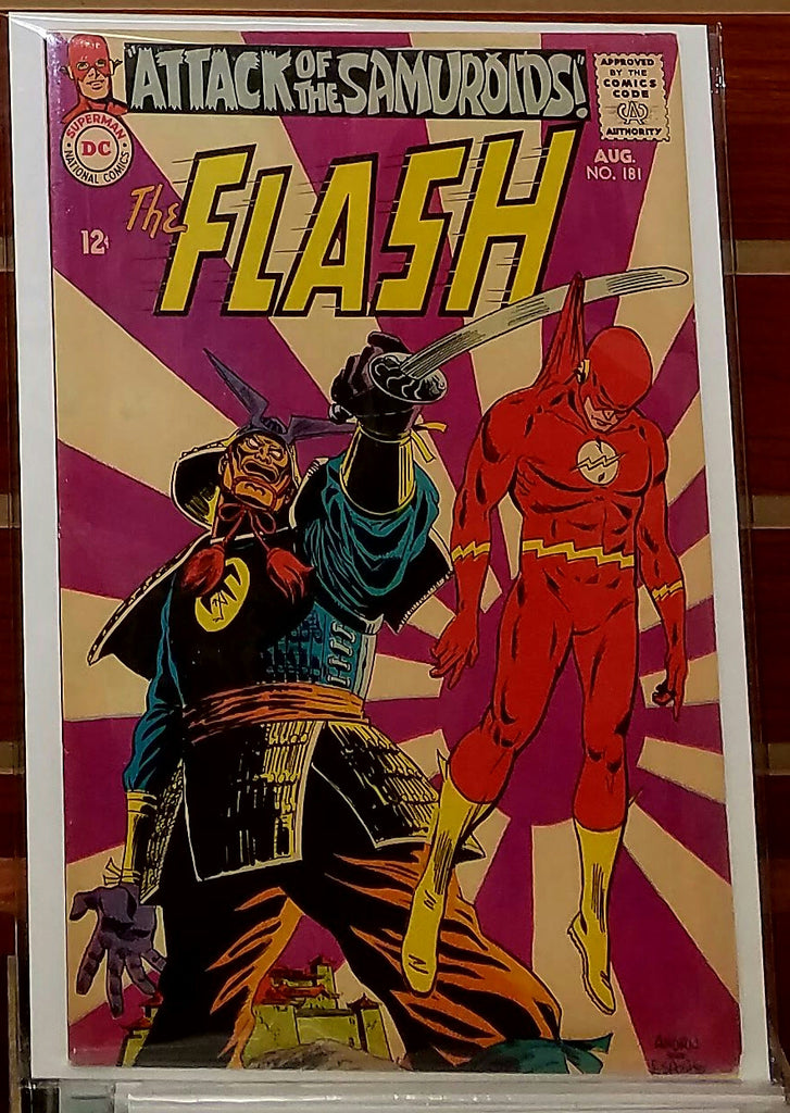 FLASH #181 (1968) MIKE ESPOSITO-VF