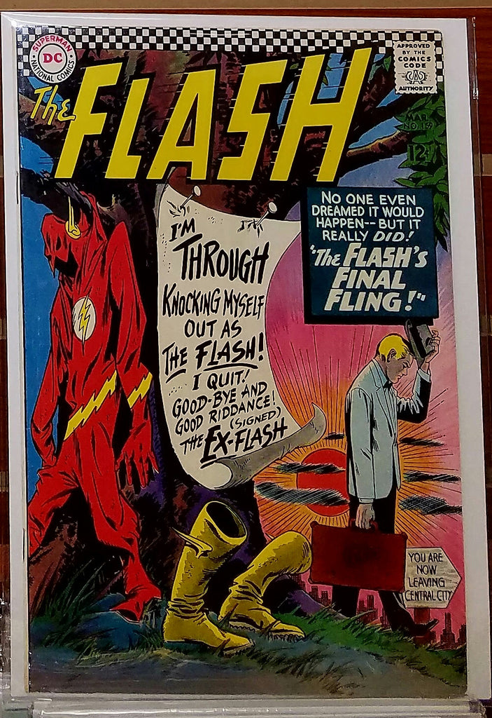 FLASH #159 (1966) CARMINE INFANTINO-VF-