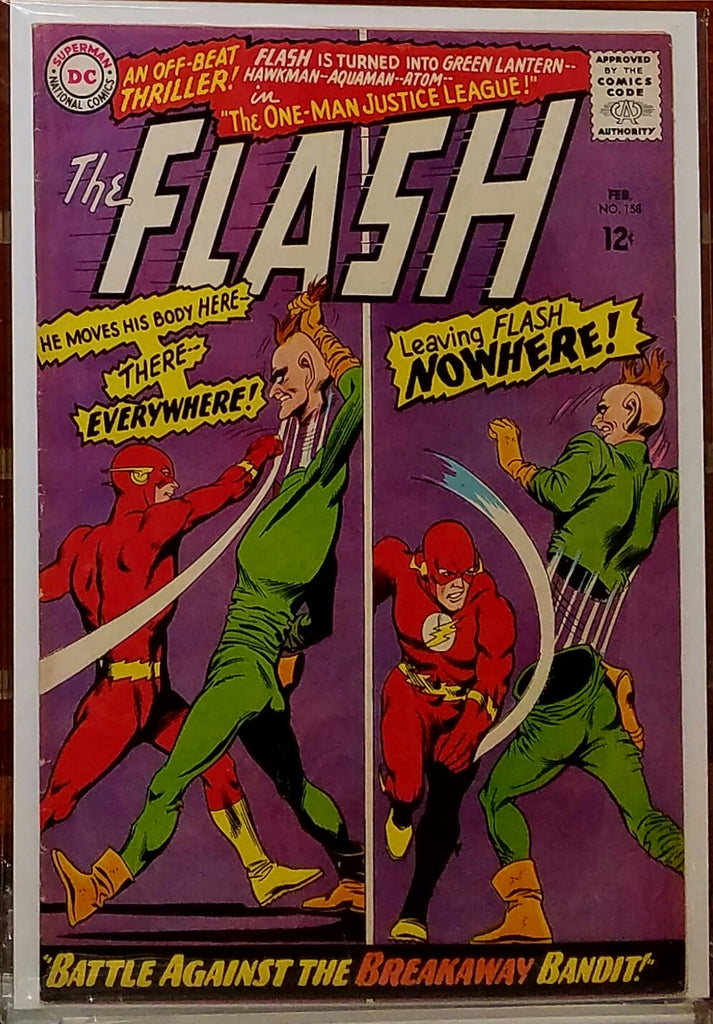FLASH #158 (1966) CARMINE INFANTINO GARDNER FOX-FINE