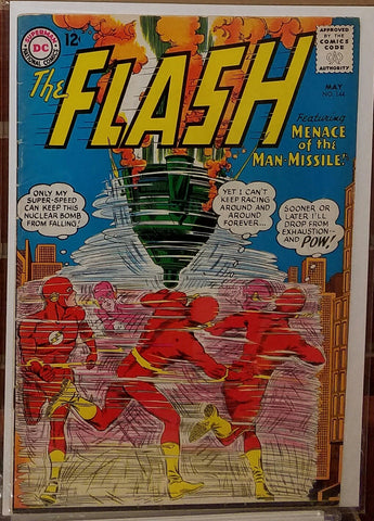 FLASH #144 (1964) GARDNER FOX KID FLASH-VG/FINE