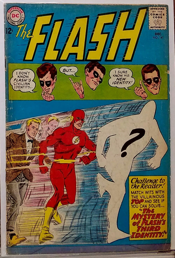 FLASH #141 (1963) CARMINE INFANTINO JOE GIELLA-VG/FINE