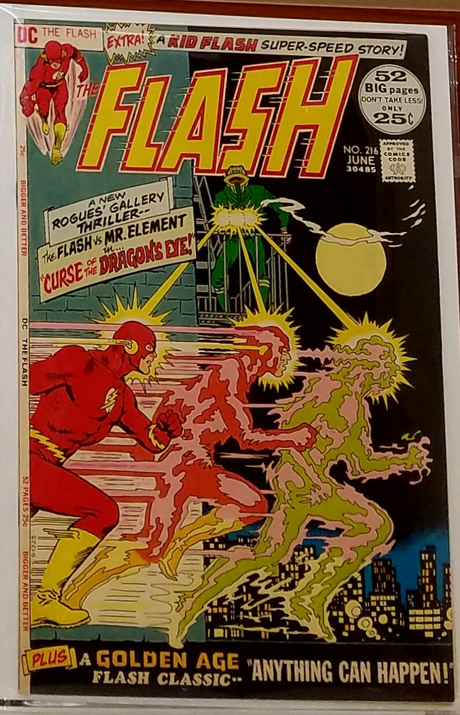 FLASH #216 (1972) NICK CARDY COVER DICK GIORDANO-VF