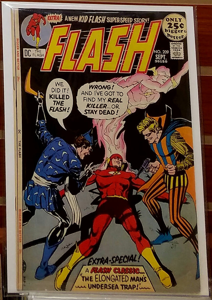 FLASH #209 (1971) JOE GIELLA CARMINE INFANTINO-FINE+/VF