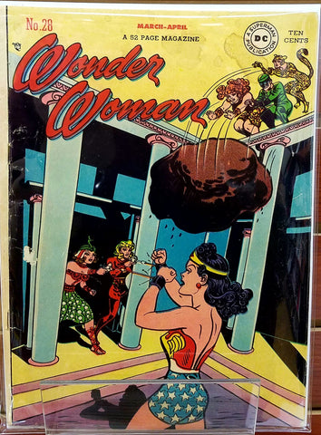 WONDER WOMAN #28 (1948) WONDER WOMAN HARRY G. PETER-VG