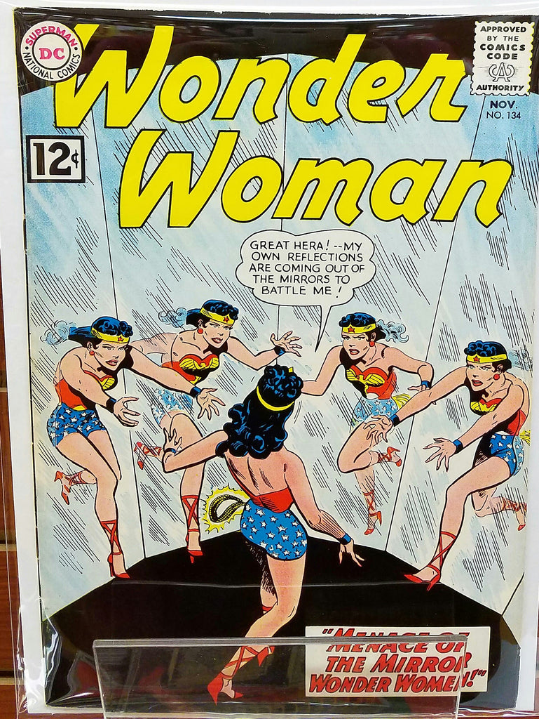 WONDER WOMAN #134 (1962) WONDER WOMAN MER BOY-VF