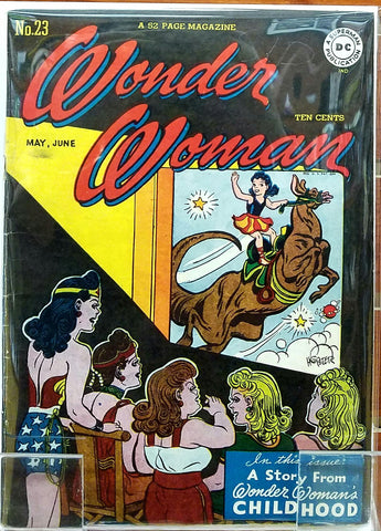 WONDER WOMAN #23 (1947) WONDER WOMAN HARRY G. PETER-VG+