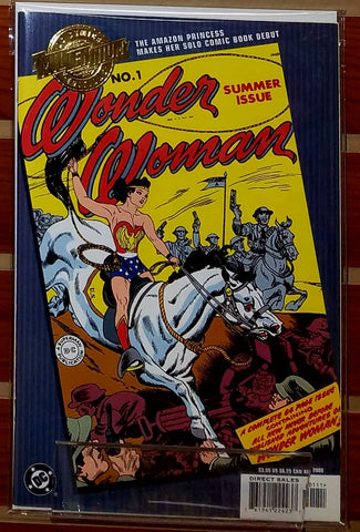 WONDER WOMAN #1 MILLENIUM EDITION (2000)-NM-