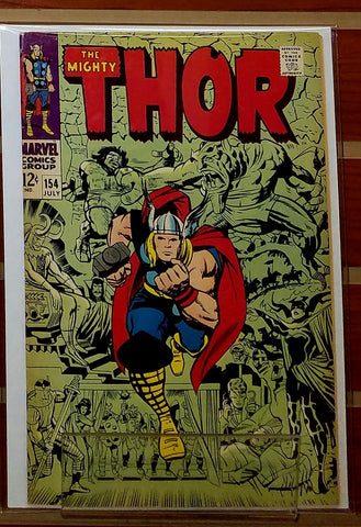 THE MIGHTY THOR #154 (1969) 1ST APPEARANCE MANGOG-VF+