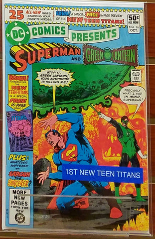 DC COMICS PRESENTS #26 (1980) 1ST APPEARANCE NEW TEEN TITANS-NM+