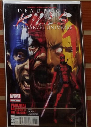 DEADPOOL KILLS THE MARVEL UNIVERSE #1-4 SET (2012) 1ST PRINT-NM