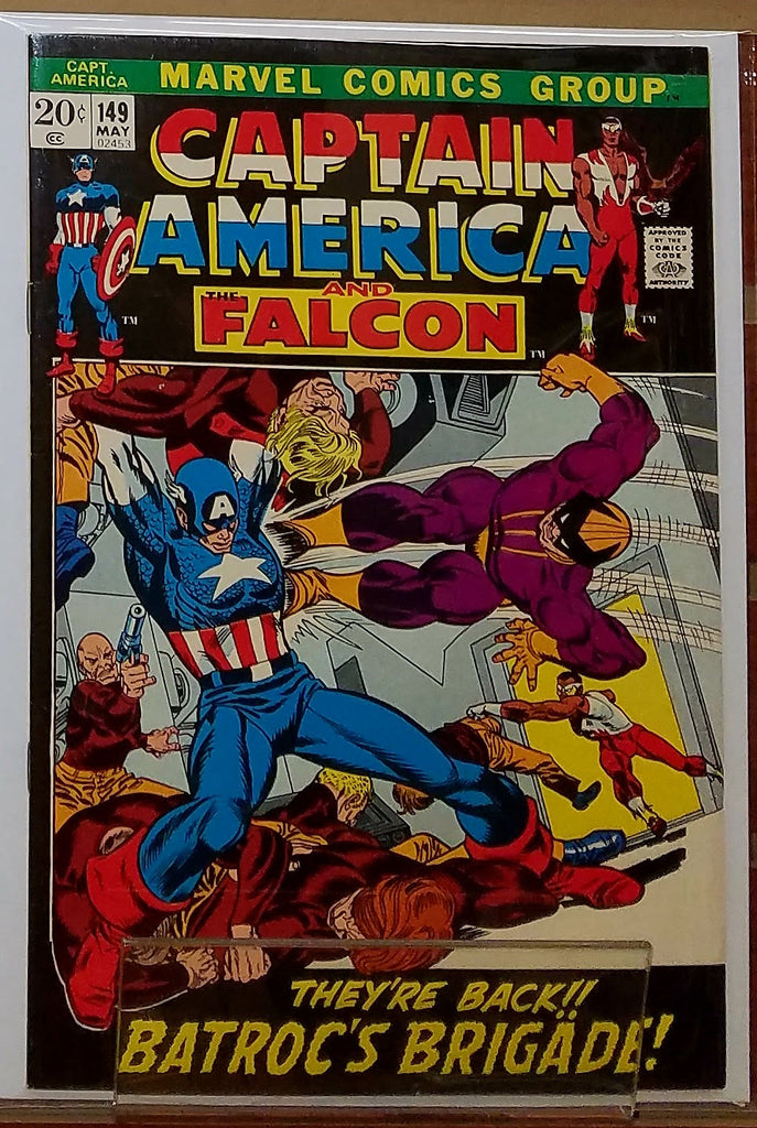 CAPTAIN AMERICA #149 (1972) GIL KANE COVER-VF+