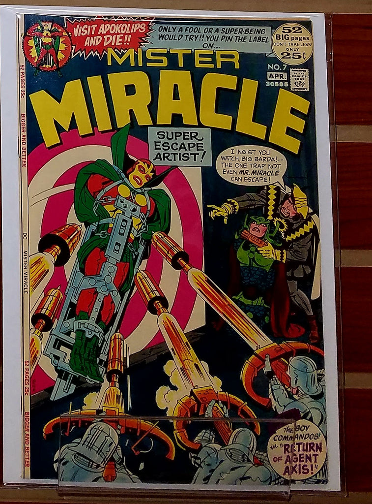 MISTER MIRACLE #7 (1972) JACK KIRBY MIKE ROYER-NM