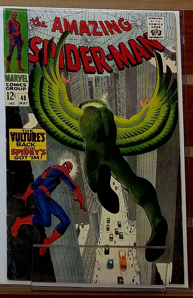 AMAZING SPIDER-MAN #48 (1966) JOHN ROMITA-VF-