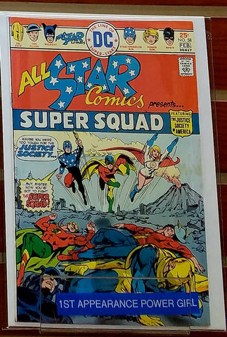 ALL STAR COMICS # 58 (1976) 1ST APPEARANCE POWER GIRL - FINE+