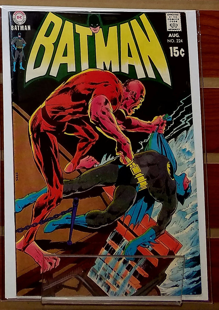 BATMAN #224 (1970) DENNY O'NEIL-NM-