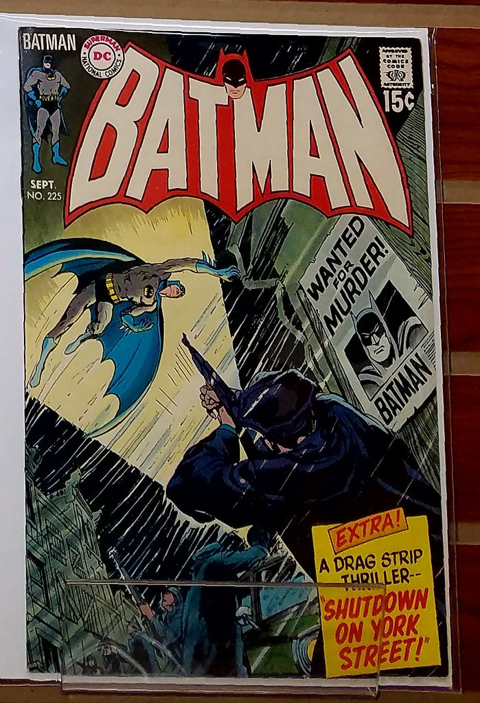 BATMAN #225 (1970) TWO PART STORY DICK GIORDANO-NM+