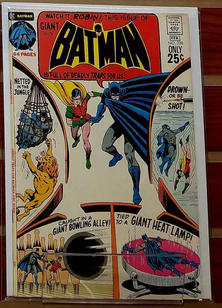 BATMAN #228 (1971) 80 PAGE GIANT SIZE-VF/NM