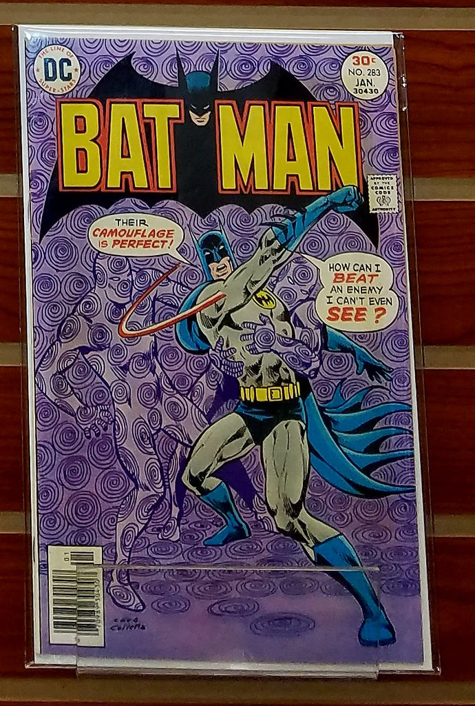 BATMAN #283 (1977) DAVID VERN ERNIE CHUA-NM