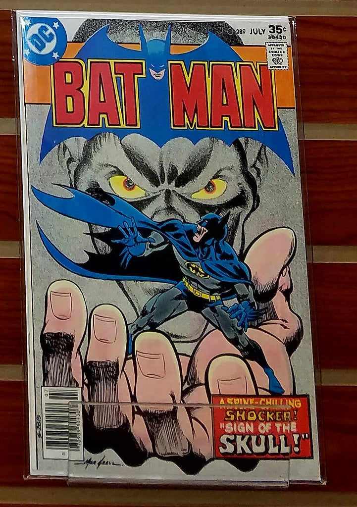 BATMAN #289 (1977) MIKE GRELL COVER-NM+