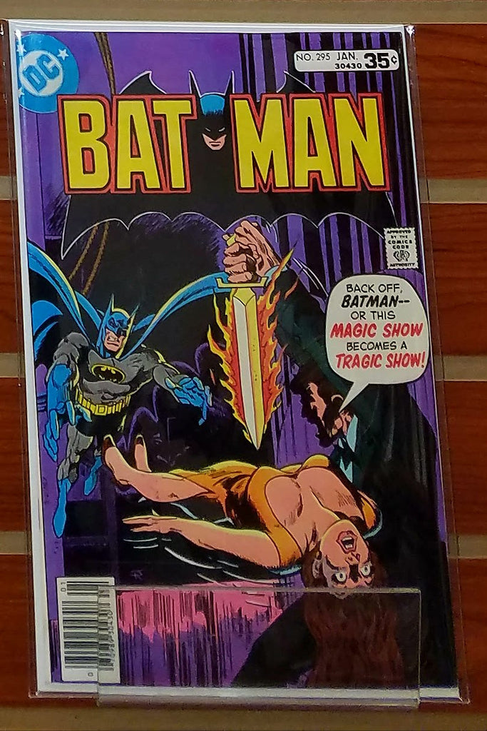 BATMAN #295 (1978) JIM APARO COVER-NM+