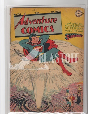 ADVENTURE COMICS #114 MARK WAID