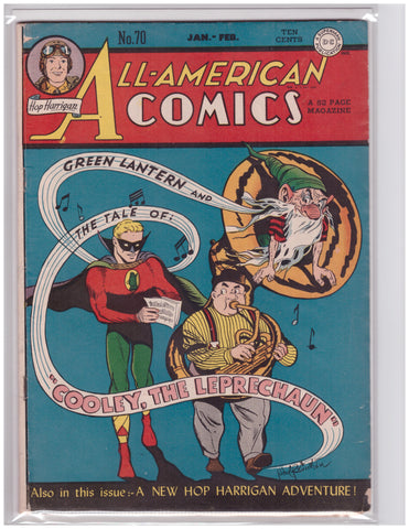 ALL-AMERICAN COMICS #70 FINE+ 1946 GOLDEN AGE GREEN LANTERN ALFRED BESTER