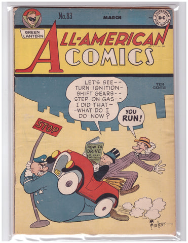ALL-AMERICAN COMICS #83 VG+ 1947 GOLDEN AGE GREEN LANTERN DR. MID-NITE