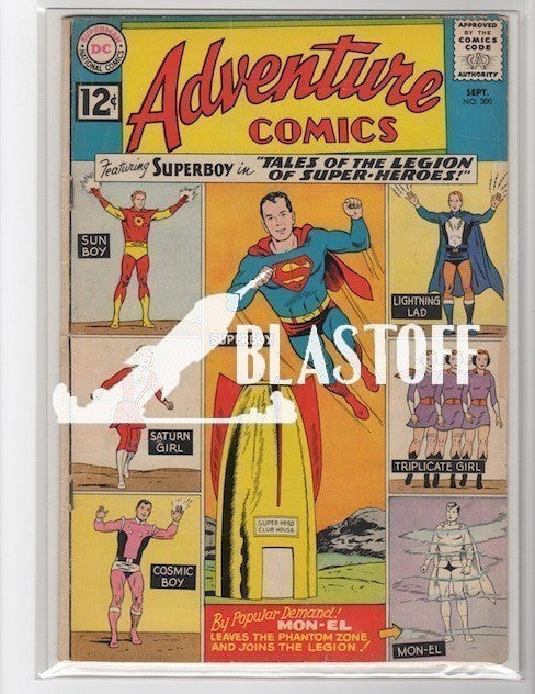 ADVENTURE COMICS #300 MARK WAID COLLECTION-GOOD+/VG