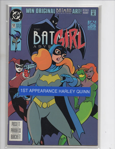 Batman Adventures #12 1st Appearance Harley Quinn