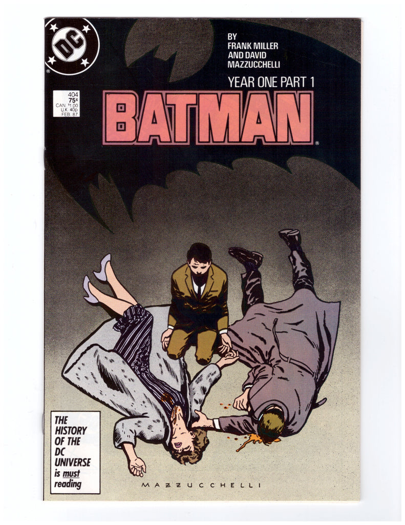 BATMAN #404 NM YEAR ONE FRANK MILLER - BLASTOFF COMICS