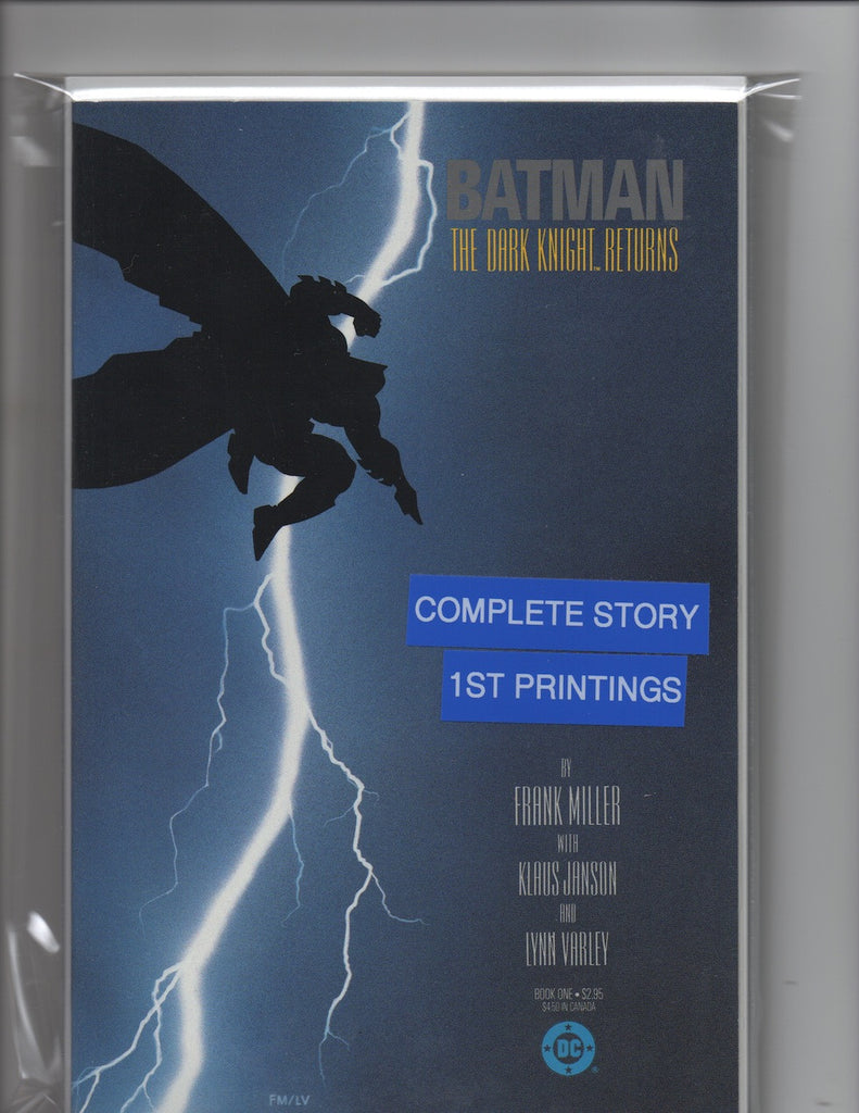 Batman Dark Knight Returns #1-4 1st Printing